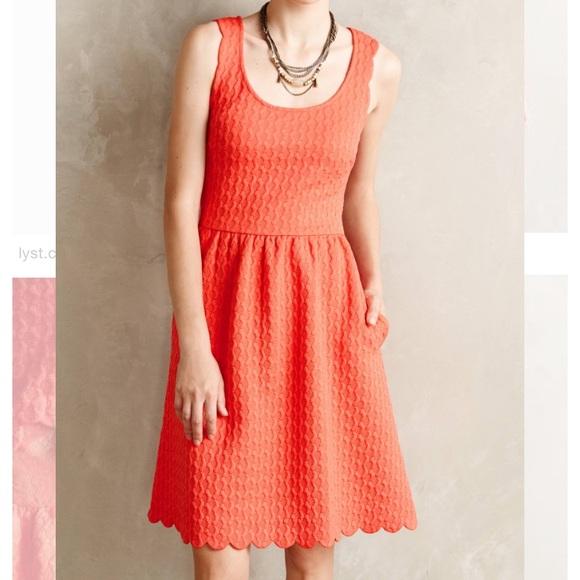 b612634d3451 Anthropologie Dresses | Nwt Maeve Scalloped Dress | Poshmark